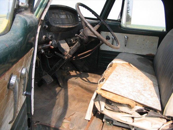 Driver Side Cab View Showing Floor