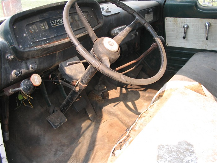 Driver Side Showing Dash